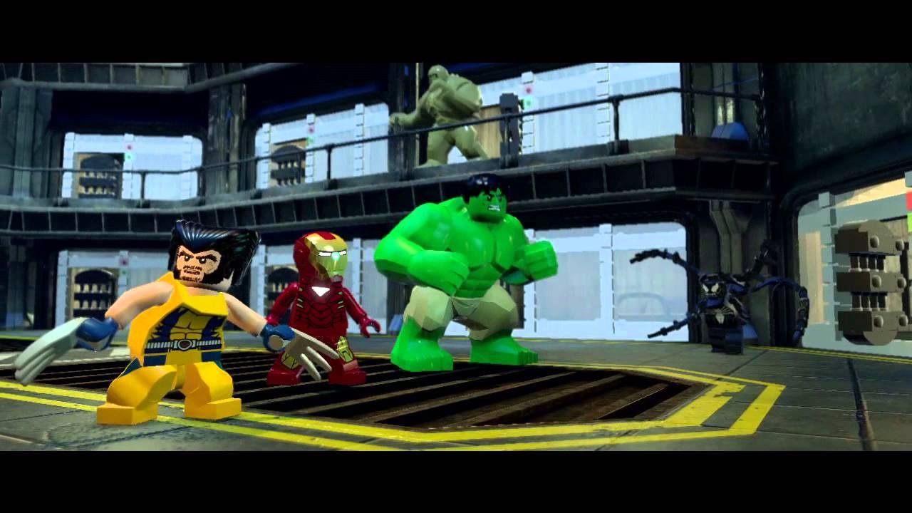 LEGO Marvel Super Heroes - Official Gamescom Trailer