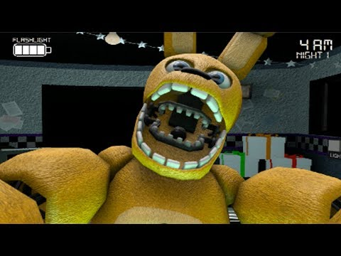 Five Nights at Freddy's The Beginnings [DEMO] Night #1 (FNAF Fan Games)