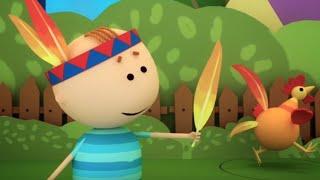 Аркадий Паровозов спешит на помощь - Пчёлы - серия 35 - мультфильмы детям(Ура! Вышло приложение