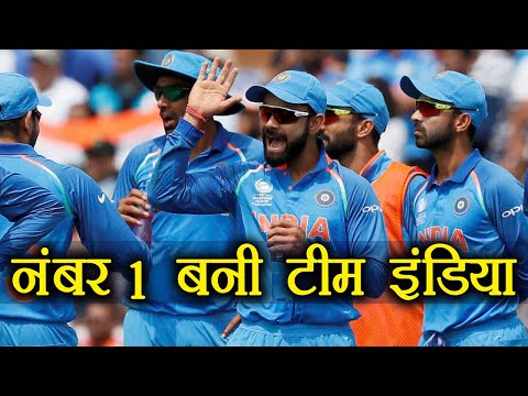 India vs Australia 2nd ODI : Team India became number 1 in ODI Ranking | वनइंडिया हिंदी