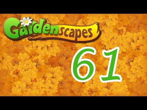 Gardenscapes level 61 Walkthrough