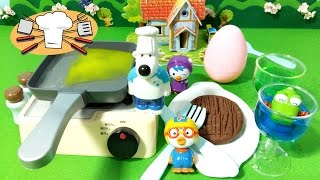 뽀로로 집안 엉터리 요리사 포비 ★뽀로로 장난감 애니