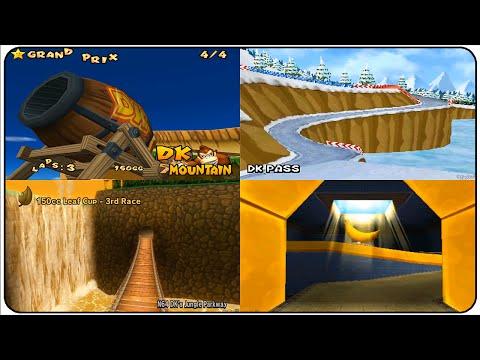 Evolution of DK Tracks in Mario Kart