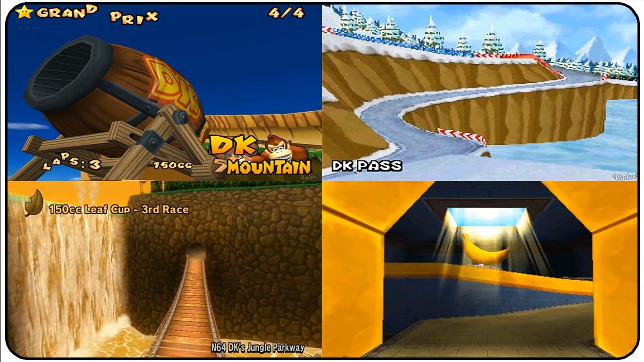 Mario Kart Nintendo Mario Kart Wii Mario And Donky Kong Circuit Start