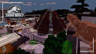 Enter Jurassic World with Minecraft | Jurassic World