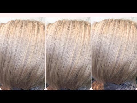 Коррекция блонда/ эстель 10.76