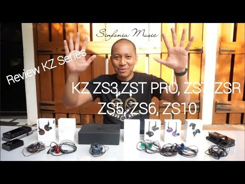 Iem 150rb - 600rb, Review KZ Series (KZ ZS3,ZST PRO,ZST,ZSR,ZS5,ZS6,ZS10)