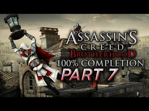 Assassin's Creed Brotherhood (Ezio Collection) 100% Completion LP - #7 [Live Archive]