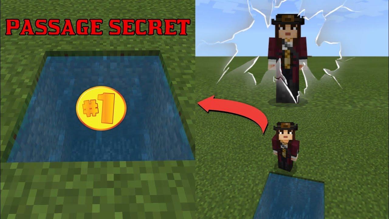 Comment Créer Un Passage Secret comment faire un passage secret minecraft - youtube