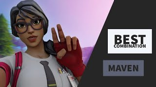 Best Combo | Maven | Fortnite Skin Review