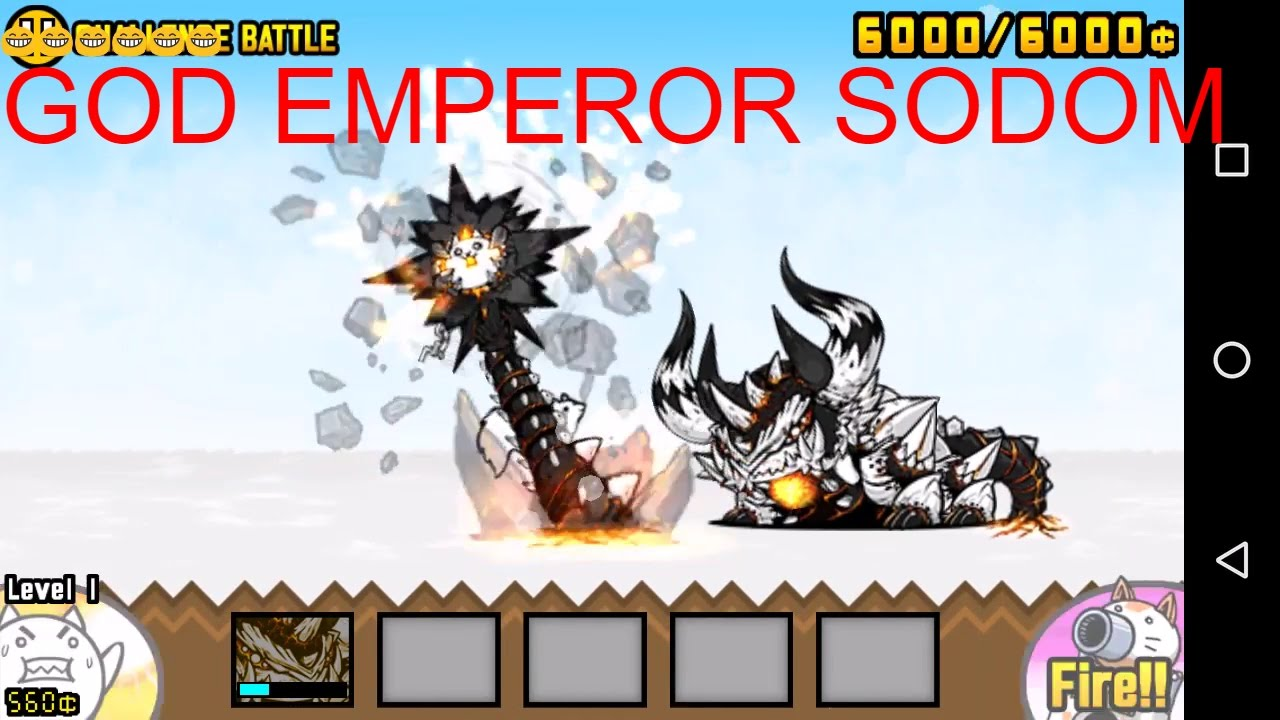The Battle Cats - True Form Sodom/God Emperor Sodom - Review - YouTube