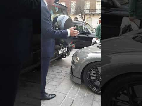 Bugatti Chiron parking too close to a G63 AMG ($3 million Hypercar)