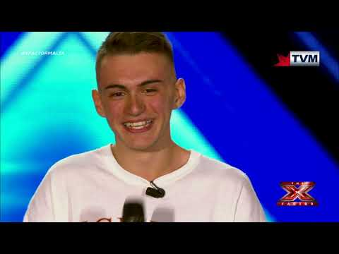 X Factor Malta - The Chair Challenge - Aidan