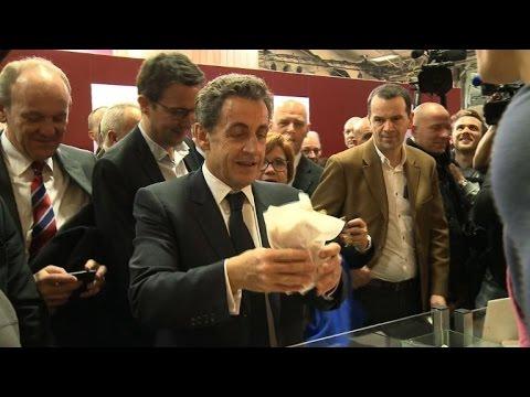 Nicolas sarkozy au salon de l 39 agriculture youtube for Sarkozy salon agriculture