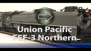 MTH Electric Trains Premier O Scale FEF Northern Steam Locomotive