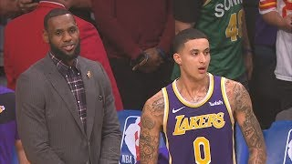 Kyle Kuzma 41 Points Career High vs Pistons! 2018-19 NBA Season