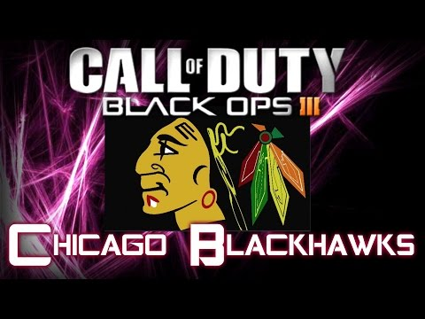 Chicago Blackhawks (NHL Hockey) - Call of Duty Black Ops 3 Emblem Tutorial | By A Hooded Psycho