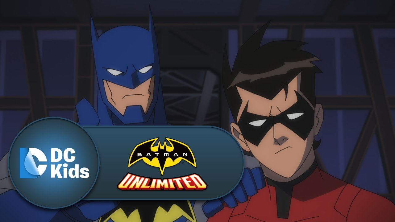 The Accidental Apprentice   Batman Unlimited   DC Kids