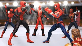 SPIDER MAN 1 VS 1 Knockout Boxing Match | Figure Stopmotion