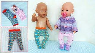 как сделать одежду для куклы беби анабель своими руками