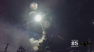 World Reacts To U.S. Missile Strike On Syria Ordered By President Trump