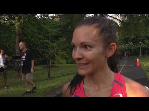 Ottawa 10k Race Winner Lanni Marchant