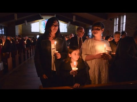 RCIA journey culminates at Easter Vigil