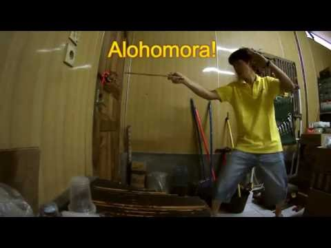Alohomora Magic Wand
