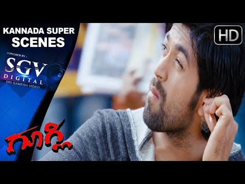 Kannada comedy scenes 51 | Heroine enquires about Yash | Kannda Movie | Kruthi Karabanda