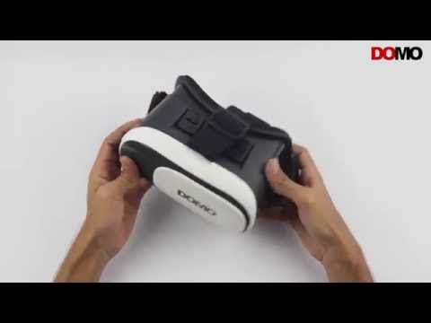 DOMO nHance VR9 Universal 3D Virtual Reality Headset Glasses - Hands On