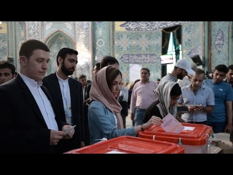 Iran Holds Highly Contested Presidential Election