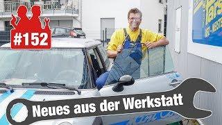 Parkplatz-Kamera entlarvt Lügen-Kundin! 😡 | Mini: Wassereintritt nach Frontscheiben-Tausch