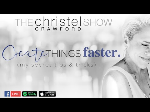 Creating Things Fast! My Secret Tips And Tricks! By Christel Crawford Sn 3 Ep 24