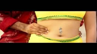 Nithya Das very hot navel kiss