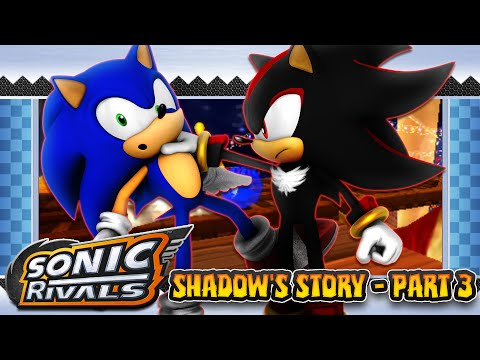 Sonic Rivals Psp Shadow S Story Part 3 Sky Park Zone Youtube