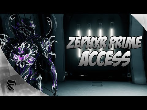 Warframe: Zephyr Prime Access First Look