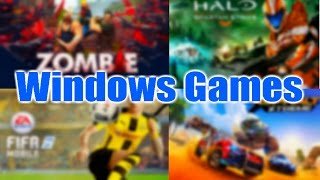 Los Mejores Juegos para WindowsPhone/Windows10Mobile/Windows10