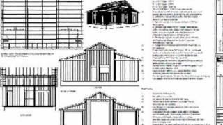 45 X 30 - 10' Sides 15' Center Rv Garage Plan