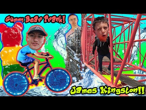 HOW TO BE JAMES KINGSTON 🗼 // GUMMY BEAR PRANK 🍭 // CRAZY BICYCLE LIGHTS 🚴 ( Vacation Vlog)