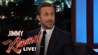 Ryan Gosling on Being Immortalized at Chinese Theatre