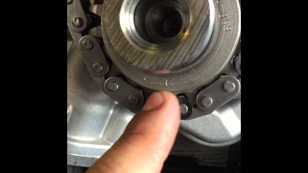 ford f 150 expedition 5 4l 3 valve triton engine timing chain rh youtube com