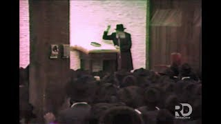 2nd night of Chol Hamoed Sukkos, 5746   Sicha