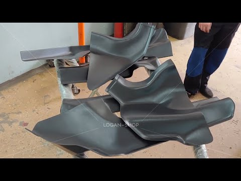 Renault Sandero - установка накладок на ковролин
