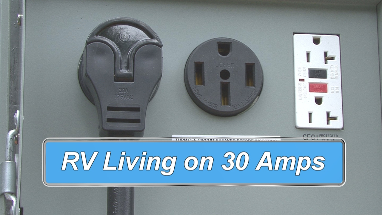 RV Living on 30 Amps - YouTube