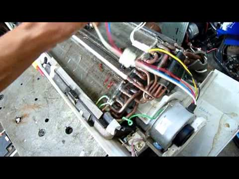 Fujitsu Inverter Indoor Unit Autopsy Pt2 Plus Daikin