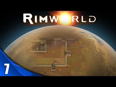 RIMWORLD T4 - #7 - EMPEZANDO EL HOSPITAL, CAZAHOMBRES Y MÁS   BETA 18   Gameplay Español