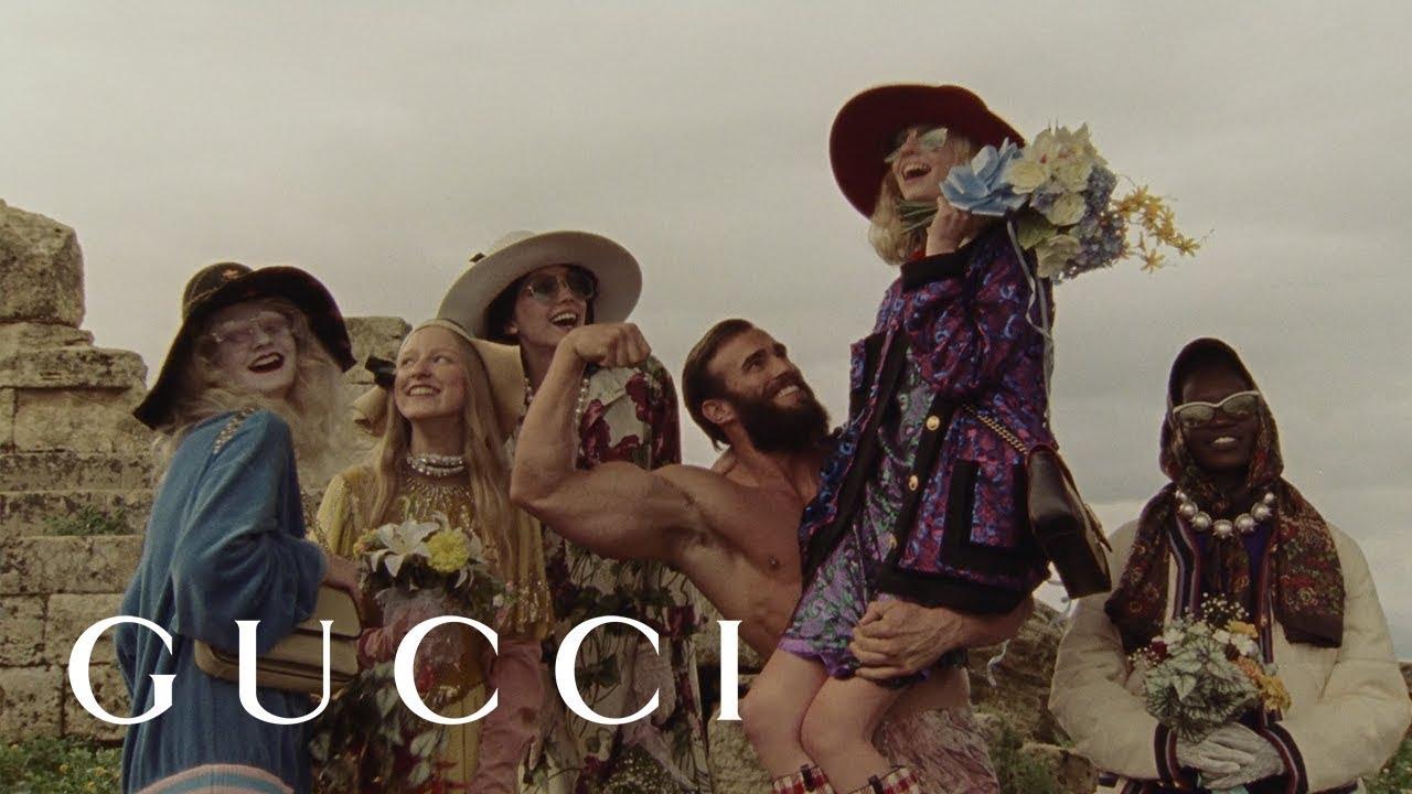 3b26fa01e73876 Gucci Pre-Fall 2019 - YouTube
