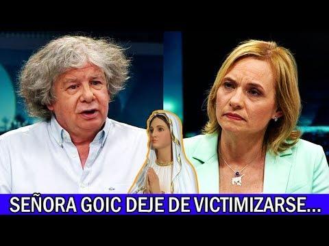 PELEA: Fernando Villegas vs Carolina Goic - Corrupción y Ética