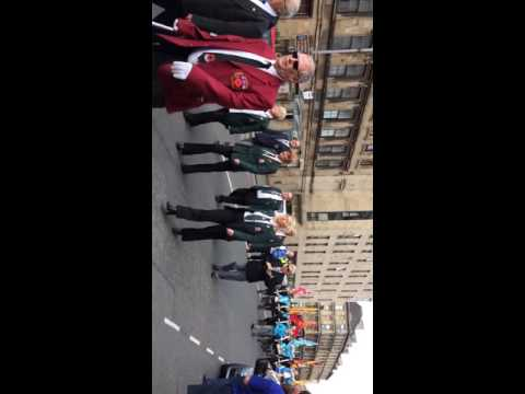 36th Ulster Division Memorial Association Parade 6/8/16 vid 2