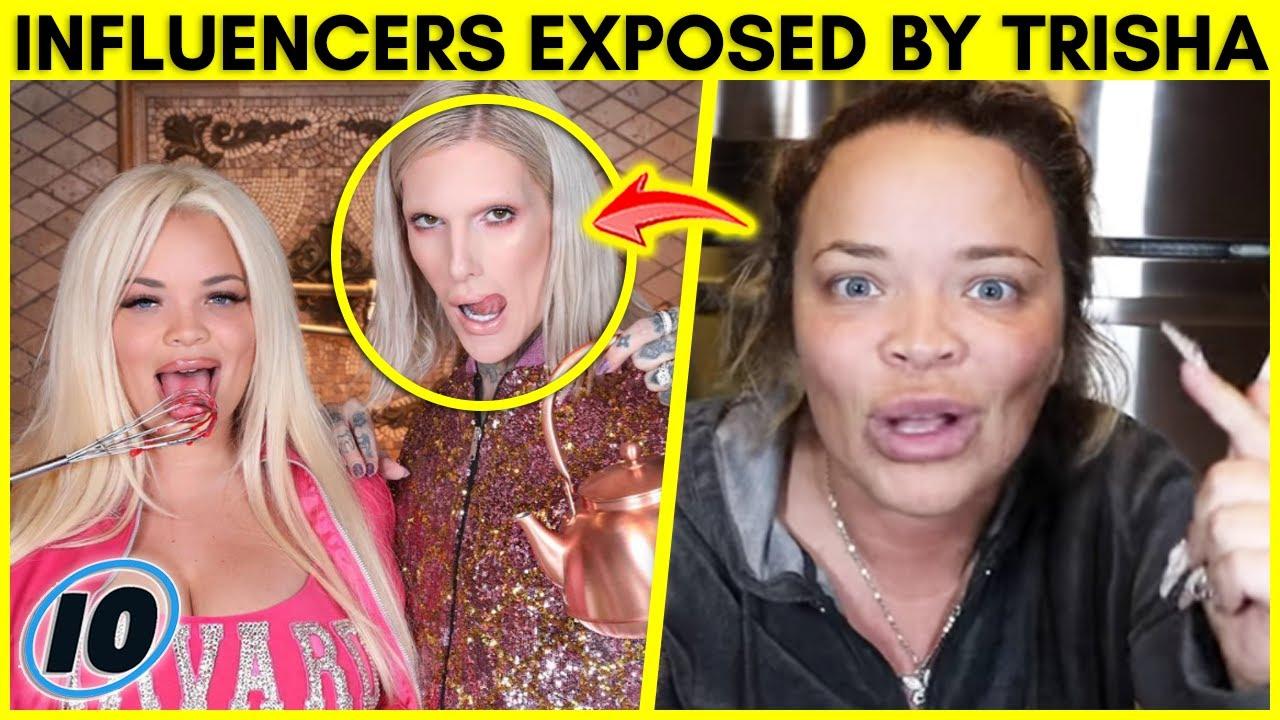 Top 10 Influencers Trisha Paytas Exposed